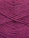Fiber Content 60% Merino Wool, 40% Acrylic, Brand ICE, Dark Orchid, Yarn Thickness 2 Fine  Sport, Baby, fnt2-52355