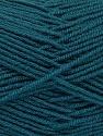 Fiber Content 70% Acrylic, 30% Wool, Teal, Brand ICE, Yarn Thickness 4 Medium  Worsted, Afghan, Aran, fnt2-52609