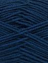 Fiber Content 70% Acrylic, 30% Wool, Navy, Brand ICE, Yarn Thickness 4 Medium  Worsted, Afghan, Aran, fnt2-52612
