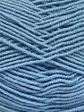 Fiber Content 70% Acrylic, 30% Wool, Light Blue, Brand ICE, Yarn Thickness 4 Medium  Worsted, Afghan, Aran, fnt2-52613