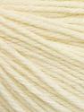 Fiber Content 55% Baby Alpaca, 45% Superwash Extrafine Merino Wool, Brand ICE, Cream, Yarn Thickness 3 Light  DK, Light, Worsted, fnt2-52945