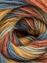 Fiber Content 60% Acrylic, 20% Wool, 20% Angora, Salmon, Brand ICE, Gold, Blue, Beige, Yarn Thickness 2 Fine  Sport, Baby, fnt2-53562