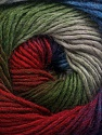 Fiber Content 50% Acrylic, 50% Wool, Red, Purple, Brand ICE, Grey, Green, Blue, Yarn Thickness 2 Fine  Sport, Baby, fnt2-55520