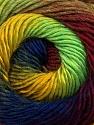 Fiber Content 50% Acrylic, 50% Wool, Yellow, Neon Green, Brand ICE, Burgundy, Blue, Yarn Thickness 2 Fine  Sport, Baby, fnt2-55563