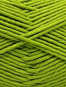 Fiber Content 50% SuperFine Acrylic, 50% SuperFine Nylon, Brand ICE, Green, Yarn Thickness 4 Medium  Worsted, Afghan, Aran, fnt2-56286