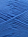 Fiber Content 50% SuperFine Acrylic, 50% SuperFine Nylon, Brand ICE, Blue, Yarn Thickness 4 Medium  Worsted, Afghan, Aran, fnt2-56287