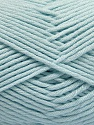 Fiber Content 50% SuperFine Nylon, 50% SuperFine Acrylic, Light Blue, Brand ICE, Yarn Thickness 4 Medium  Worsted, Afghan, Aran, fnt2-56288