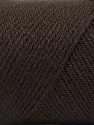 Fiber Content 50% Acrylic, 50% Wool, Brand ICE, Coffee Brown, Yarn Thickness 3 Light  DK, Light, Worsted, fnt2-56427