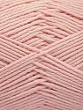 Fiber Content 50% SuperFine Acrylic, 50% SuperFine Nylon, Light Pink, Brand ICE, Yarn Thickness 4 Medium  Worsted, Afghan, Aran, fnt2-56456