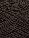 Fiber Content 100% Cotton, Brand ICE, Dark Brown, Yarn Thickness 2 Fine  Sport, Baby, fnt2-56711