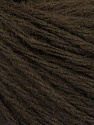 Fiber Content 50% Wool, 50% Acrylic, Brand ICE, Dark Brown, Yarn Thickness 4 Medium  Worsted, Afghan, Aran, fnt2-56734