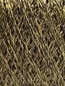 Fiber Content 85% Viscose, 15% Metallic Lurex, Light Olive Green, Brand ICE, Brown, Yarn Thickness 3 Light  DK, Light, Worsted, fnt2-57037