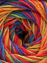 Fiber Content 100% Acrylic, Salmon, Purple, Orange, Brand ICE, Green, Blue, Yarn Thickness 3 Light  DK, Light, Worsted, fnt2-57760