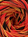 Fiber Content 100% Acrylic, Salmon Shades, Brand ICE, Gold, Black, Yarn Thickness 3 Light  DK, Light, Worsted, fnt2-57762