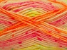 Fiber Content 75% Acrylic, 25% Wool, Neon Colors, Brand ICE, Yarn Thickness 3 Light  DK, Light, Worsted, fnt2-58427