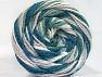 Fiber Content 50% Acrylic, 50% Polyamide, White, Teal, Khaki, Brand ICE, Beige, Yarn Thickness 5 Bulky  Chunky, Craft, Rug, fnt2-59354