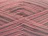 Fiber Content 75% Superwash Wool, 25% Polyamide, Pink Shades, Light Camel, Brand ICE, Yarn Thickness 1 SuperFine  Sock, Fingering, Baby, fnt2-59494