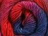Fiber Content 50% Acrylic, 50% Wool, Red, Navy, Lilac, Brand ICE, Fuchsia, Yarn Thickness 2 Fine  Sport, Baby, fnt2-59786