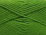 Fiber Content 100% Acrylic, Brand ICE, Green, Yarn Thickness 5 Bulky  Chunky, Craft, Rug, fnt2-60933