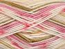 Fiber Content 100% Acrylic, White, Pink Shades, Brand ICE, Cream, Camel, Yarn Thickness 4 Medium  Worsted, Afghan, Aran, fnt2-63338