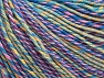 Fiber Content 55% Cotton, 45% Acrylic, Yellow, Pink, Lilac, Brand ICE, Green, Blue Shades, fnt2-63415