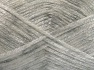 Fiber Content 70% Polyamide, 19% Wool, 11% Acrylic, White, Silver, Brand Ice Yarns, fnt2-64571