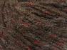 Fiber Content 60% Acrylic, 21% Polyester, 19% Alpaca, Red, Brand Ice Yarns, Dark Brown, fnt2-64602