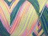 Fiber Content 100% Acrylic, Pink, Brand Ice Yarns, Green Shades, fnt2-64656