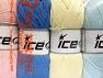 Fiber Content 52% Nylon, 48% Acrylic, Mixed Lot, Brand Ice Yarns, fnt2-64676