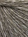 Fiber Content 60% Wool, 40% Acrylic, White, Light Khaki, Brand Ice Yarns, fnt2-65543