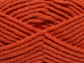 Fiber Content 50% Wool, 50% Acrylic, Brand Ice Yarns, Dark Orange, fnt2-65633