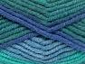 Fiber Content 50% Wool, 50% Acrylic, Brand Ice Yarns, Green Shades, Blue Shades, fnt2-65640