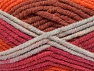 Fiber Content 50% Wool, 50% Acrylic, Red, Orange Shades, Light Grey, Brand Ice Yarns, fnt2-65641