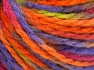 Fiber Content 50% Wool, 50% Acrylic, Orange, Lilac, Light Green, Brand Ice Yarns, Fuchsia, Yarn Thickness 4 Medium  Worsted, Afghan, Aran, fnt2-65657