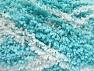 İçerik 100% Mikro Polyester, White, Turquoise, Brand Ice Yarns, Yarn Thickness 5 Bulky  Chunky, Craft, Rug, fnt2-65681