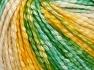 Fiber Content 77% Cotton, 23% Acrylic, Yellow Shades, Light Cream, Brand Ice Yarns, Green Shades, Yarn Thickness 4 Medium  Worsted, Afghan, Aran, fnt2-65704