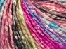 Fiber Content 77% Cotton, 23% Acrylic, Turquoise, Pink Shades, Brand Ice Yarns, Green Shades, Yarn Thickness 4 Medium  Worsted, Afghan, Aran, fnt2-65710