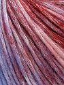 İçerik 50% Modal, 35% Akrilik, 15% Yün, Lilac Shades, Brand Ice Yarns, Burgundy Shades, fnt2-65852