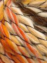 Contenido de fibra 70% Acrílico Premium, 15% Alpaca, 15% Lana, Orange, Brand Ice Yarns, Gold, Brown, Beige, Yarn Thickness 6 SuperBulky  Bulky, Roving, fnt2-65913