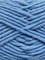 Fiber Content 50% Acrylic, 50% Merino Wool, Light Blue, Brand Ice Yarns, fnt2-65955