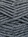 Fiber Content 50% Wool, 50% Acrylic, Brand Ice Yarns, Dark Grey, fnt2-65972