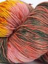 Please note that this is a hand-dyed yarn. Colors in different lots may vary because of the charateristics of the yarn. Also see the package photos for the colorway in full; as skein photos may not show all colors. Fiber Content 75% Super Wash Wool, 25% Polyamide, Yellow, Salmon Shades, Brand Ice Yarns, Grey Shades, fnt2-66030