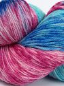 Please note that this is a hand-dyed yarn. Colors in different lots may vary because of the charateristics of the yarn. Also see the package photos for the colorway in full; as skein photos may not show all colors. Fiber Content 75% Super Wash Wool, 25% Polyamide, Turquoise Shades, Pink Shades, Brand Ice Yarns, Blue, fnt2-66035
