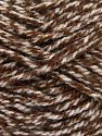 Bulky  Fiber Content 100% Acrylic, Brand Ice Yarns, Brown Shades, fnt2-66046