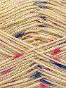 İçerik 100% Akrilik, Pink Shades, Khaki, Brand Ice Yarns, Dark Cream, Blue, fnt2-66056