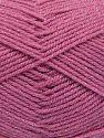 Fiber Content 94% Acrylic, 6% Metallic Lurex, Brand Ice Yarns, Candy Pink, fnt2-66066
