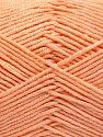 Fiber Content 50% Acrylic, 50% Cotton, Light Salmon, Brand Ice Yarns, fnt2-66105
