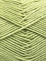 Fiber Content 50% Cotton, 50% Acrylic, Light Green, Brand Ice Yarns, fnt2-66118