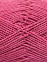 Fiber Content 50% Cotton, 50% Acrylic, Brand Ice Yarns, Candy Pink, fnt2-66122