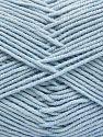 Contenido de fibra 50% Acrílico, 50% Algodón, Brand Ice Yarns, Baby Blue, fnt2-66124